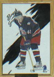 2003-04 BAP Memorabilia Brush with Greatness #12 Rick Nash