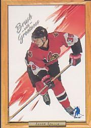 2003-04 BAP Memorabilia Brush with Greatness Contest Cards #6 Jason Spezza