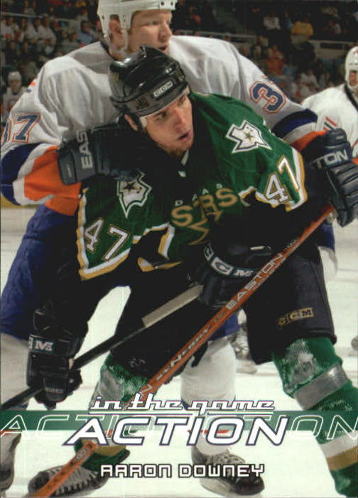 2003-04 ITG Action #179 Aaron Downey