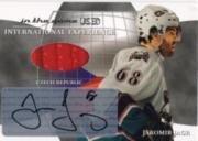 2003-04 ITG Used Signature Series International Experience Autographs #15 Jaromir Jagr
