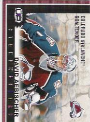 2003-04 Pacific Heads Up Stonewallers #3 David Aebischer