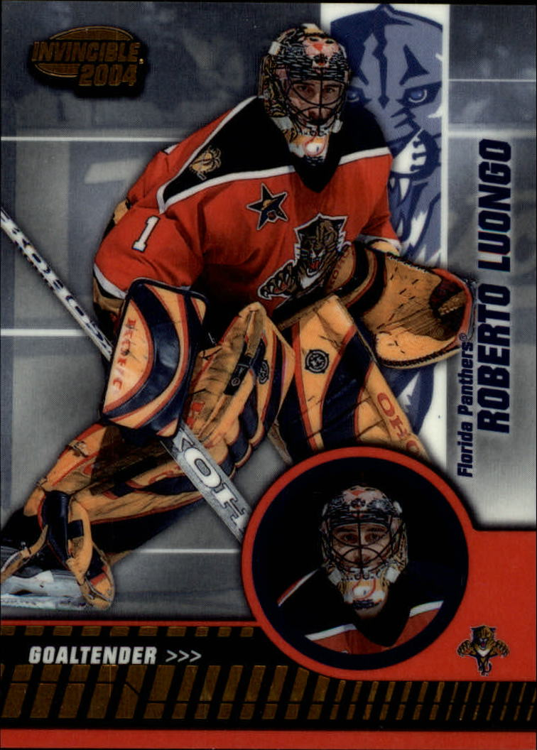 2003-04 Pacific Invincible #43 Roberto Luongo
