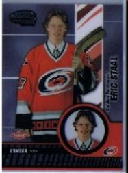 2003-04 Pacific Invincible #105 Eric Staal RC front image