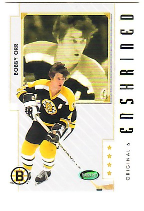2003-04 Parkhurst Original Six Boston #81 Bobby Orr