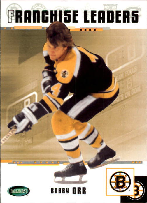 2003-04 Parkhurst Original Six Boston #91 Bobby Orr