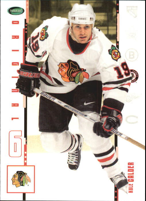 2003-04 Parkhurst Original Six Chicago #4 Kyle Calder