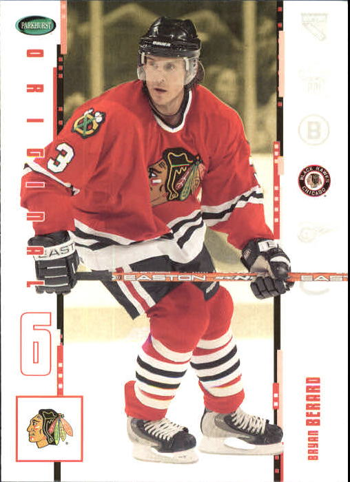 2003-04 Parkhurst Original Six Chicago #5 Bryan Berard