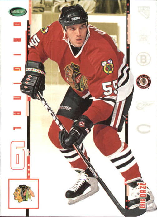 2003-04 Parkhurst Original Six Chicago #6 Eric Daze