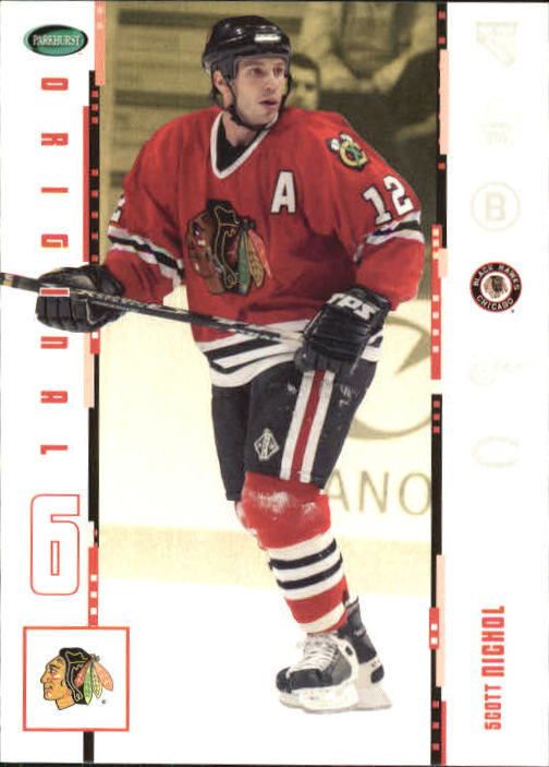 2003-04 Parkhurst Original Six Chicago #12 Scott Nichol