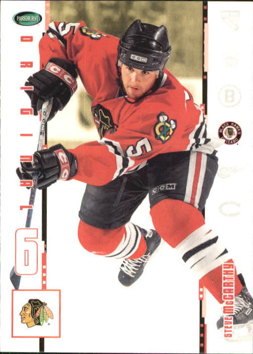2003-04 Parkhurst Original Six Chicago #16 Steve McCarthy