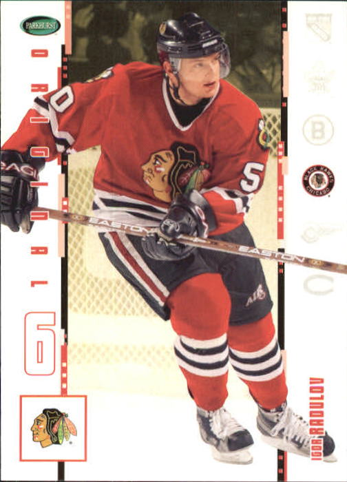 2003-04 Parkhurst Original Six Chicago #17 Igor Radulov