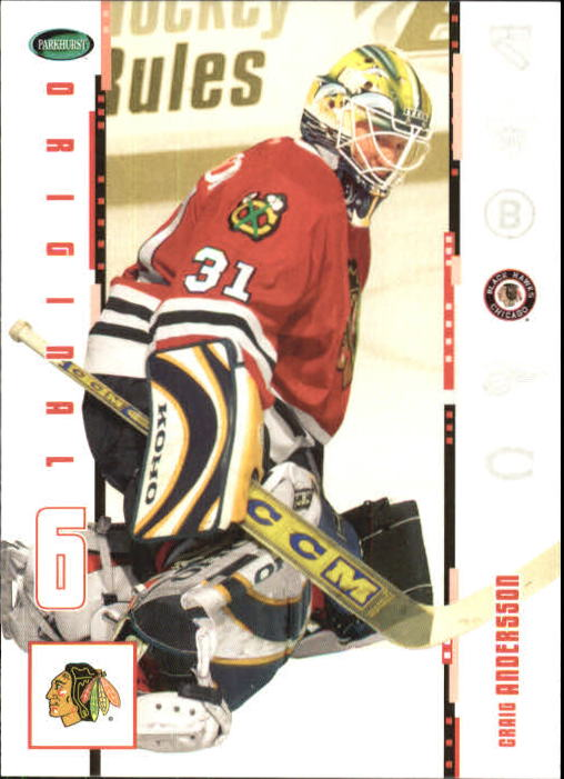 2003-04 Parkhurst Original Six Chicago #20 Craig Andersson