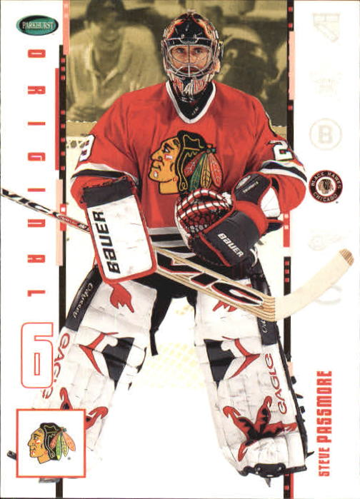 2003-04 Parkhurst Original Six Chicago #21 Steve Passmore