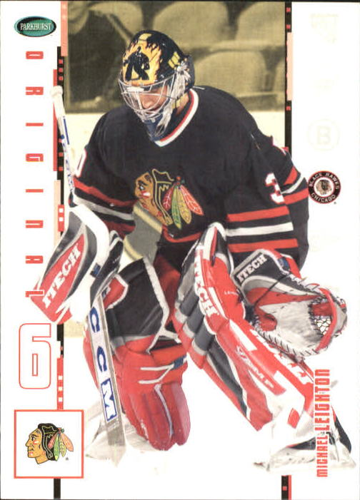 2003-04 Parkhurst Original Six Chicago #24 Michael Leighton