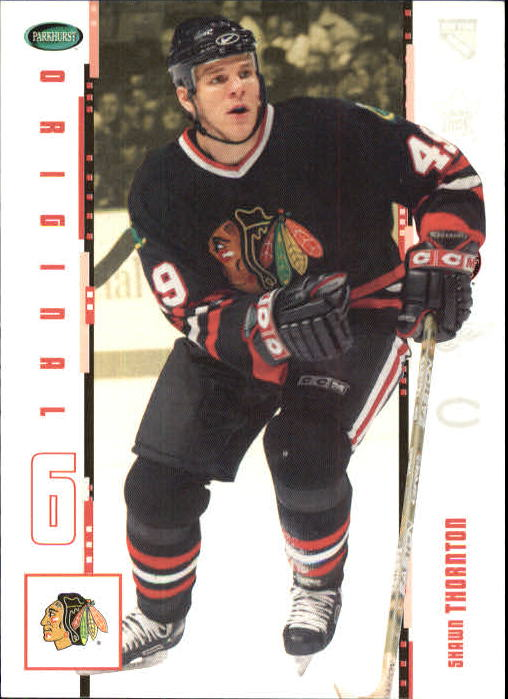 2003-04 Parkhurst Original Six Chicago #25 Shawn Thornton
