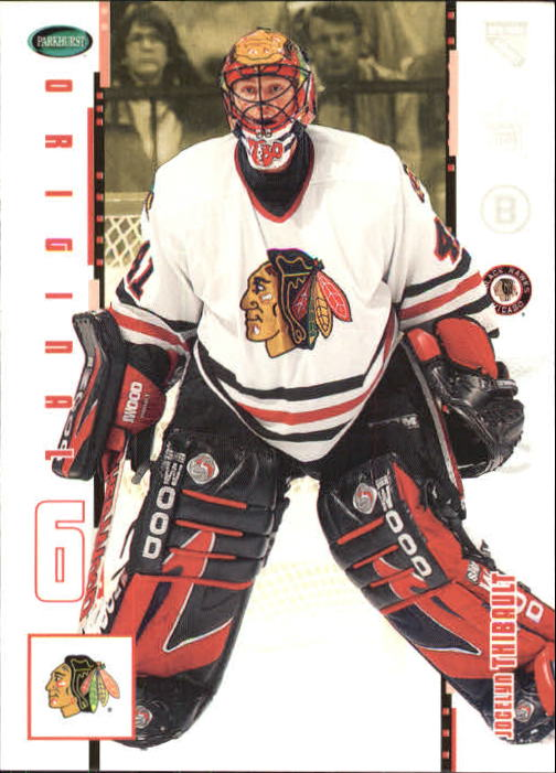 2003-04 Parkhurst Original Six Chicago #28 Jocelyn Thibault