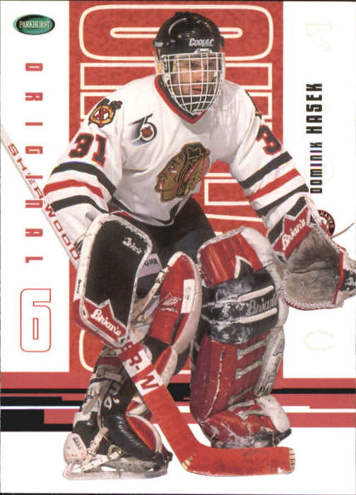 2003-04 Parkhurst Original Six Chicago #32 Dominik Hasek