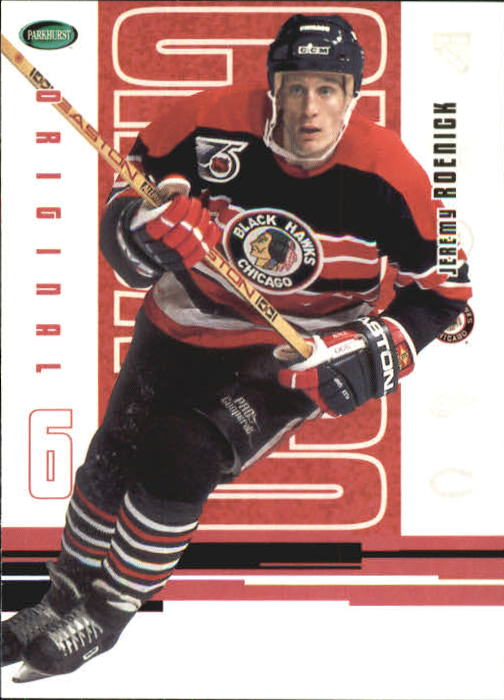 2003-04 Parkhurst Original Six Chicago #33 Jeremy Roenick