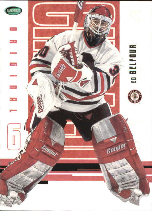 2003-04 Parkhurst Original Six Chicago #34 Ed Belfour