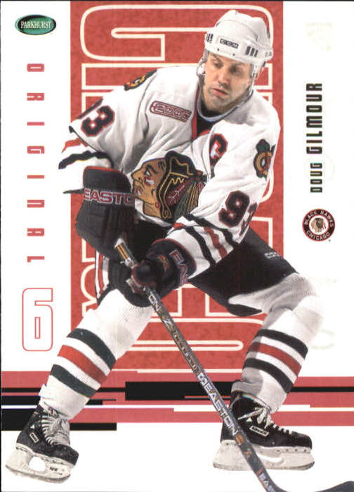 2003-04 Parkhurst Original Six Chicago #35 Doug Gilmour