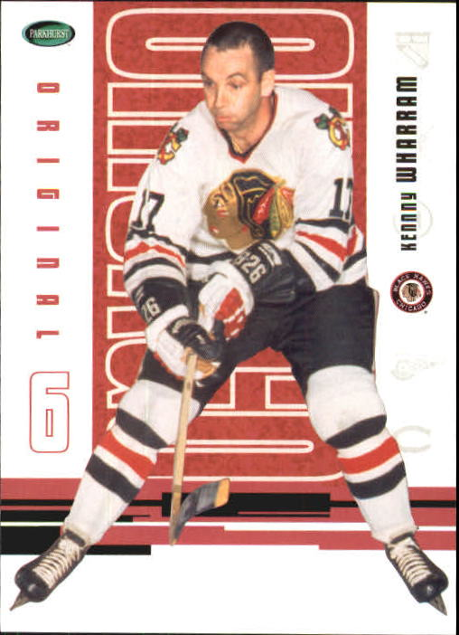 2003-04 Parkhurst Original Six Chicago #40 Ken Wharram