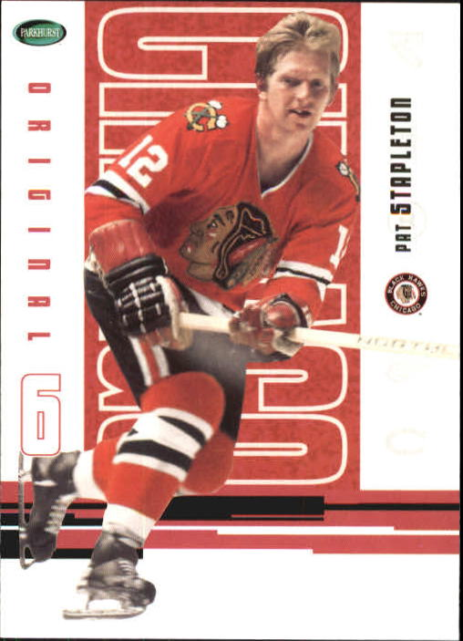 2003-04 Parkhurst Original Six Chicago #41 Pat Stapleton