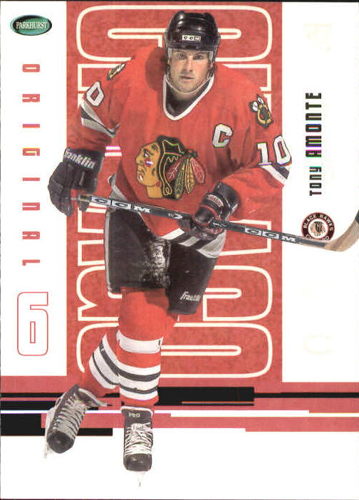 2003-04 Parkhurst Original Six Chicago #44 Tony Amonte