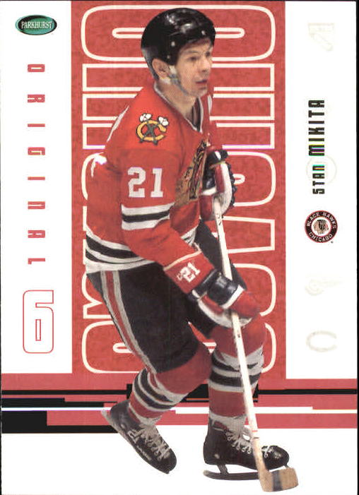 2003-04 Parkhurst Original Six Chicago #45 Stan Mikita