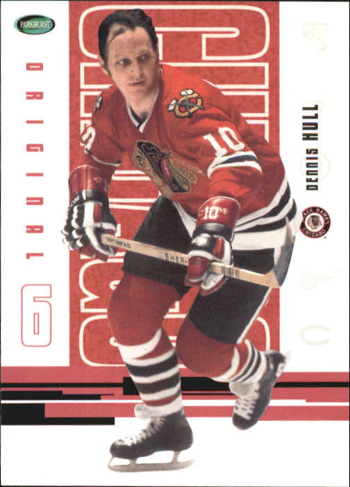 2003-04 Parkhurst Original Six Chicago #46 Dennis Hull