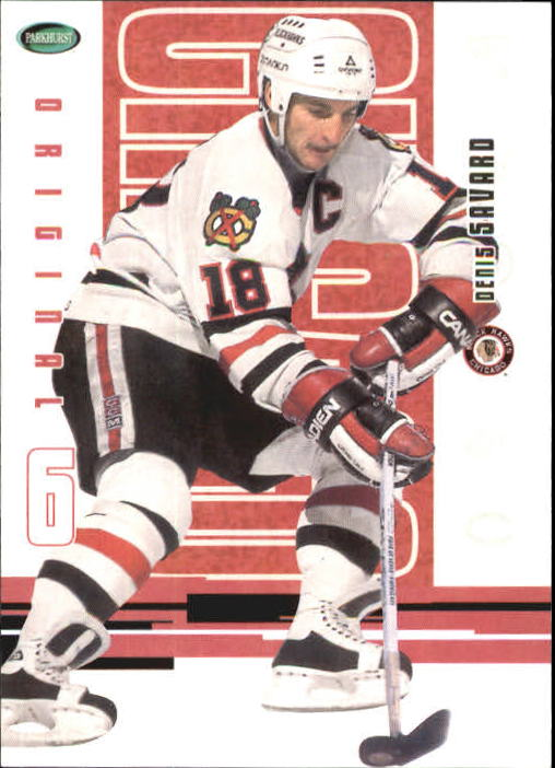 2003-04 Parkhurst Original Six Chicago #47 Denis Savard