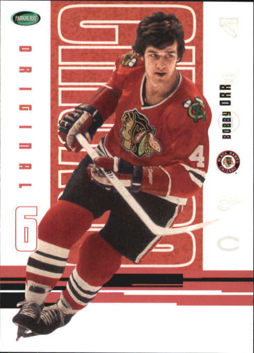 2003-04 Parkhurst Original Six Chicago #49 Bobby Orr