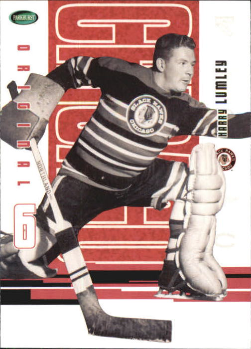 2003-04 Parkhurst Original Six Chicago #51 Harry Lumley