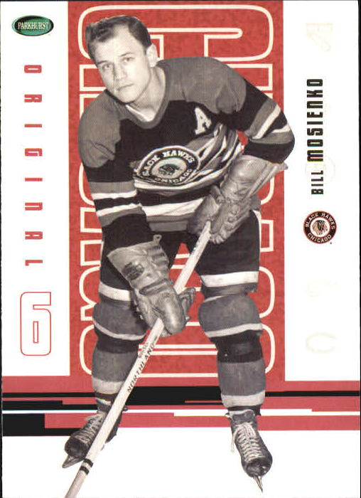 2003-04 Parkhurst Original Six Chicago #52 Bill Mosienko