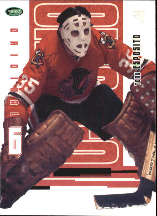 2003-04 Parkhurst Original Six Chicago #59 Tony Esposito