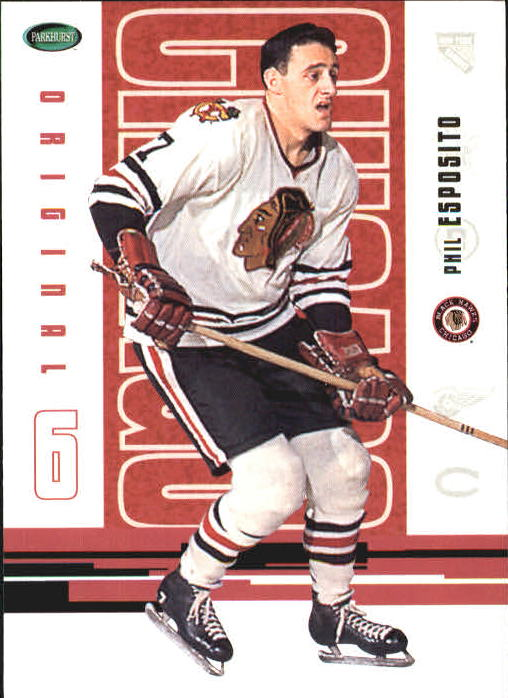 2003-04 Parkhurst Original Six Chicago #60 Phil Esposito
