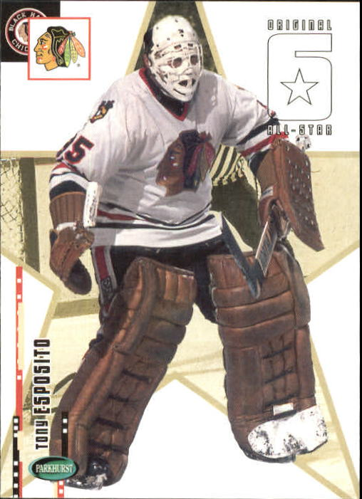 2003-04 Parkhurst Original Six Chicago #64 Tony Esposito
