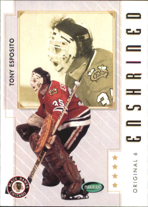 2003-04 Parkhurst Original Six Chicago #88 Tony Esposito