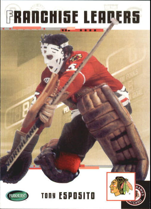2003-04 Parkhurst Original Six Chicago #97 Tony Esposito