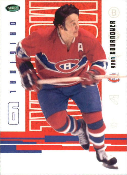 2003-04 Parkhurst Original Six Montreal #38 Yvan Cournoyer