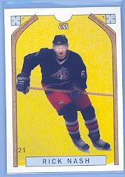 2003-04 Topps C55 #21B Rick Nash Full Length