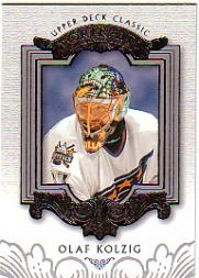 2003-04 Upper Deck Classic Portraits #100 Olaf Kolzig
