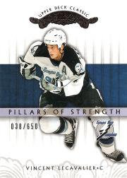 2003-04 Upper Deck Classic Portraits #151 Vincent Lecavalier PS