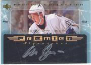 2003-04 UD Premier Collection Signatures #PSAH Ales Hemsky