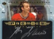 2003-04 UD Premier Collection Signatures #PSGL Guy Lafleur SP