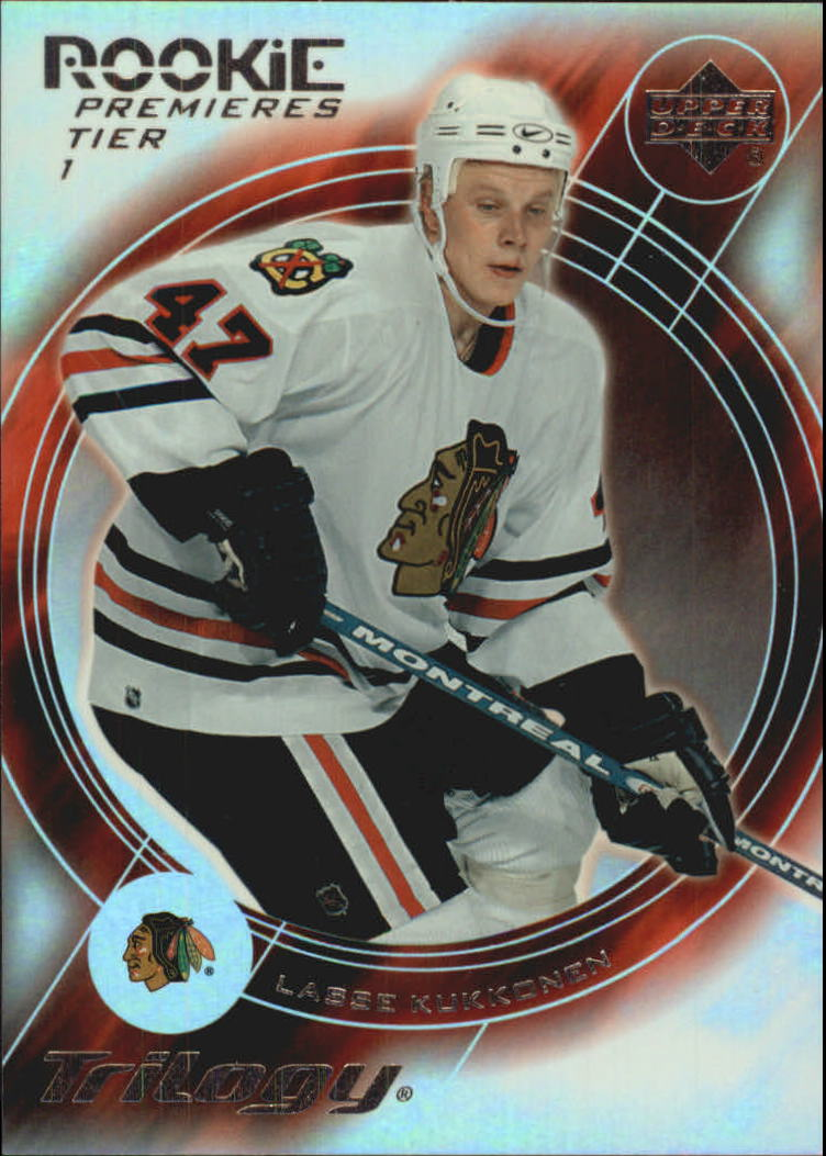 2003-04 Upper Deck Trilogy #145 Lasse Kukkonen RC