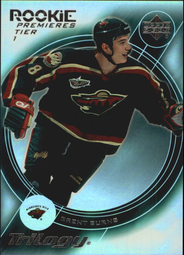 2003-04 Upper Deck Trilogy #153 Brent Burns RC