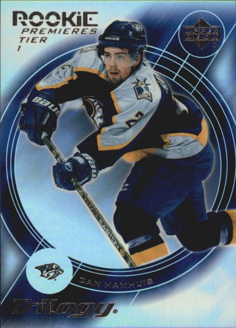 2003-04 Upper Deck Trilogy #156 Dan Hamhuis RC