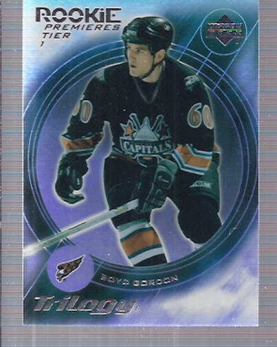 2003-04 Upper Deck Trilogy #171 Boyd Gordon RC