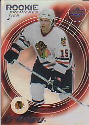 2003-04 Upper Deck Trilogy #174 Tuomo Ruutu RC