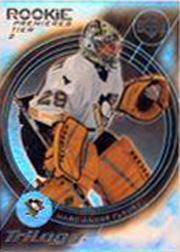 2003-04 Upper Deck Trilogy #180 Marc-Andre Fleury RC
